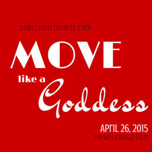 move like a goddess