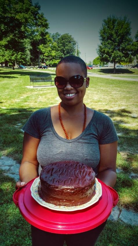 chocolate cake surprise meditation