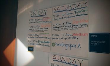 healing justice practice schedule
