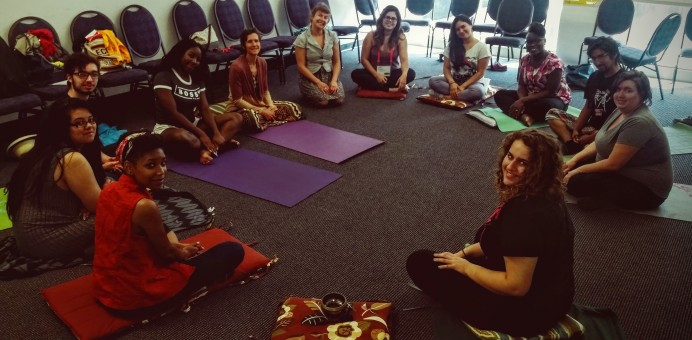 healing justice session: embodied meditation
