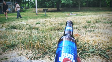 confession: not only was i judging the culprits for littering but for also drinking bad beer! #MICraftBeer