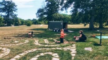 seva crew + the tool trailer