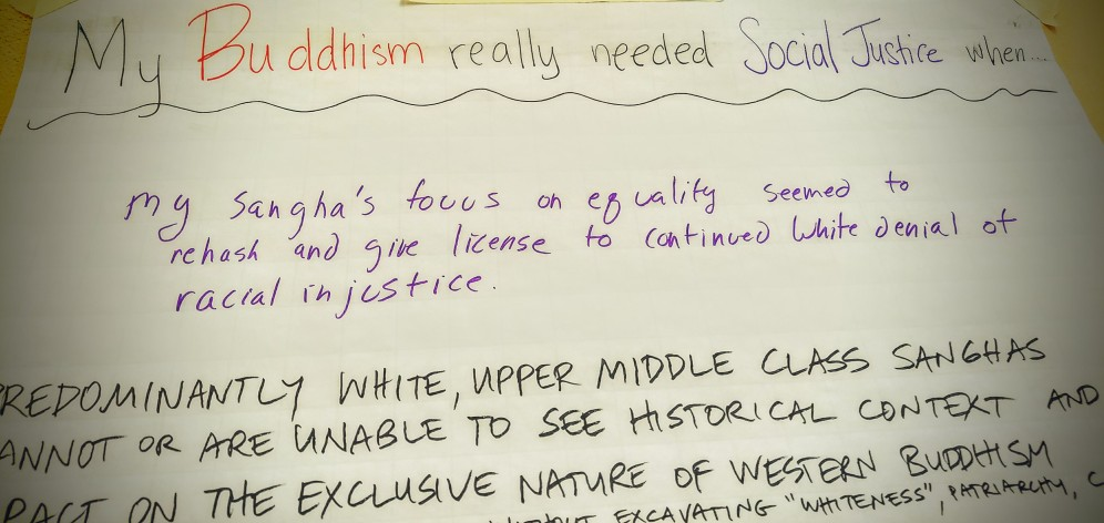 when buddhism needs social justice