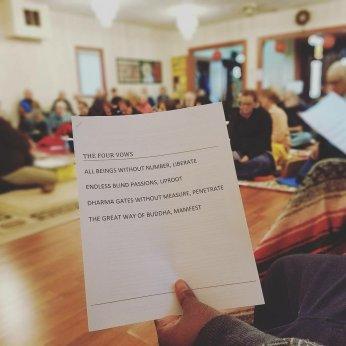 4 bodhisattva vows / avatamsaka sutta