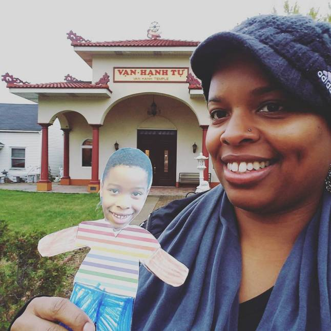 zen mom tings × flat stanley